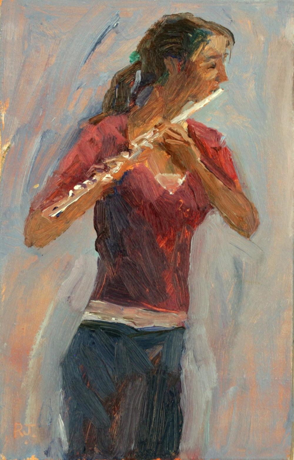109. flautist III