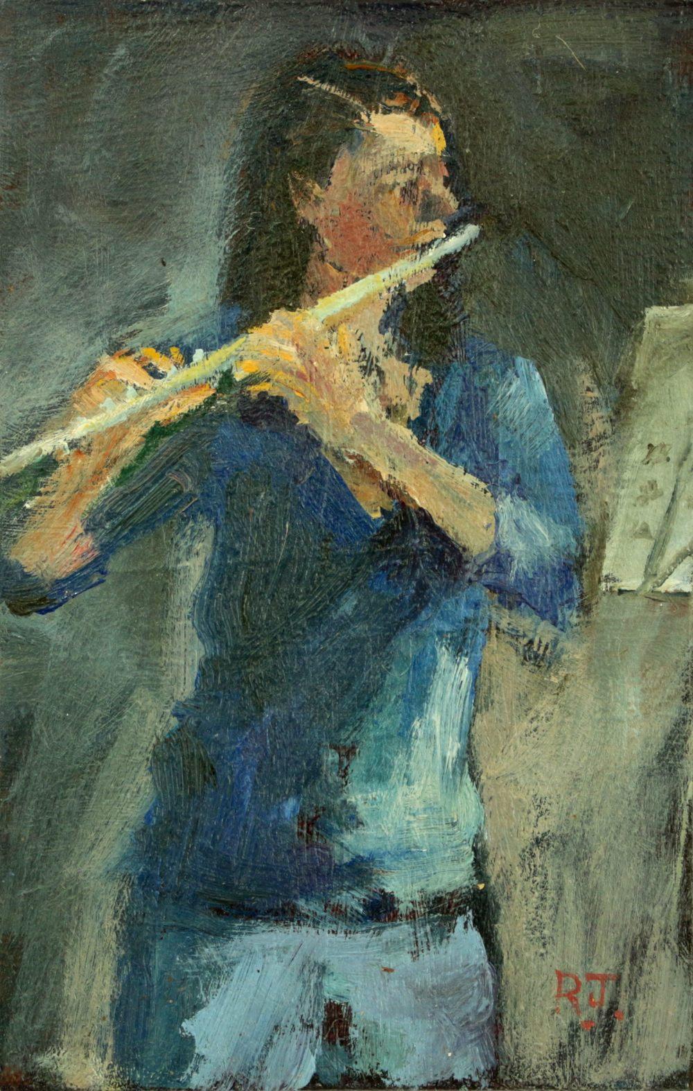 107. flautist