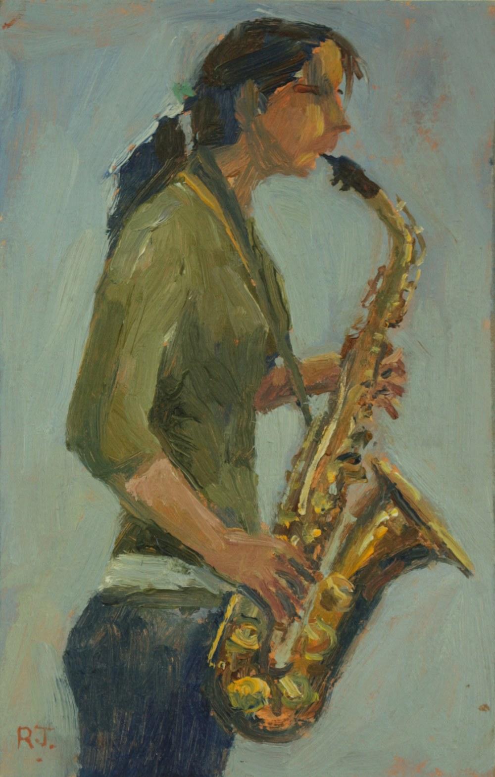 106. saxophonist