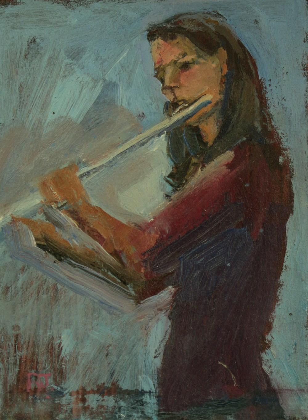 108. flautist