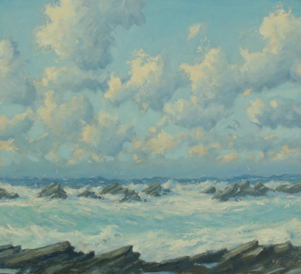 5. rocky shore