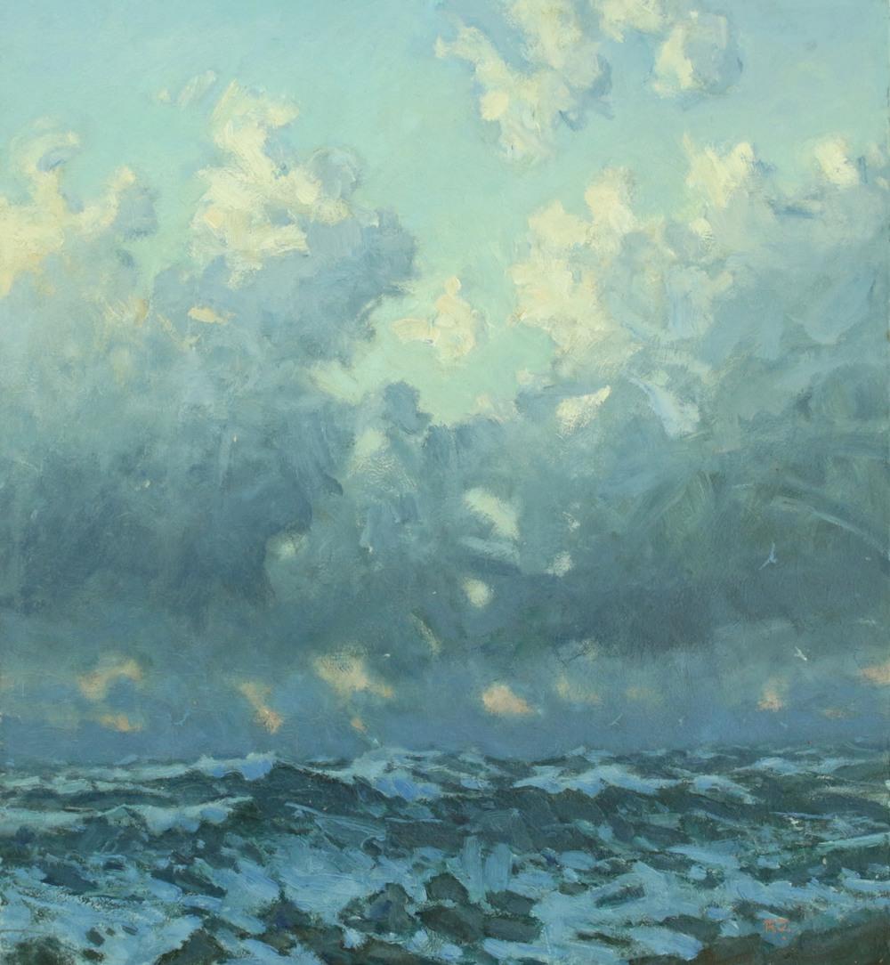 3. winter sea, dawn