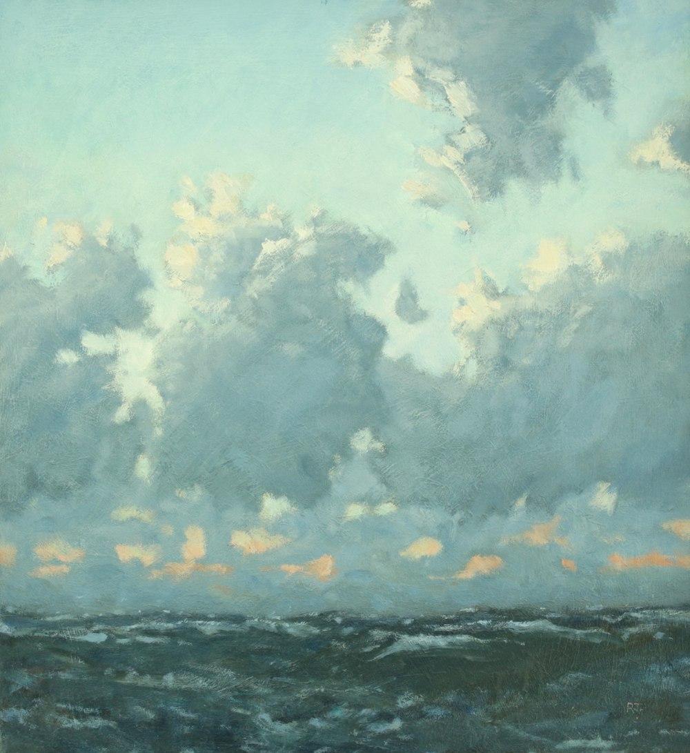 15. at sea