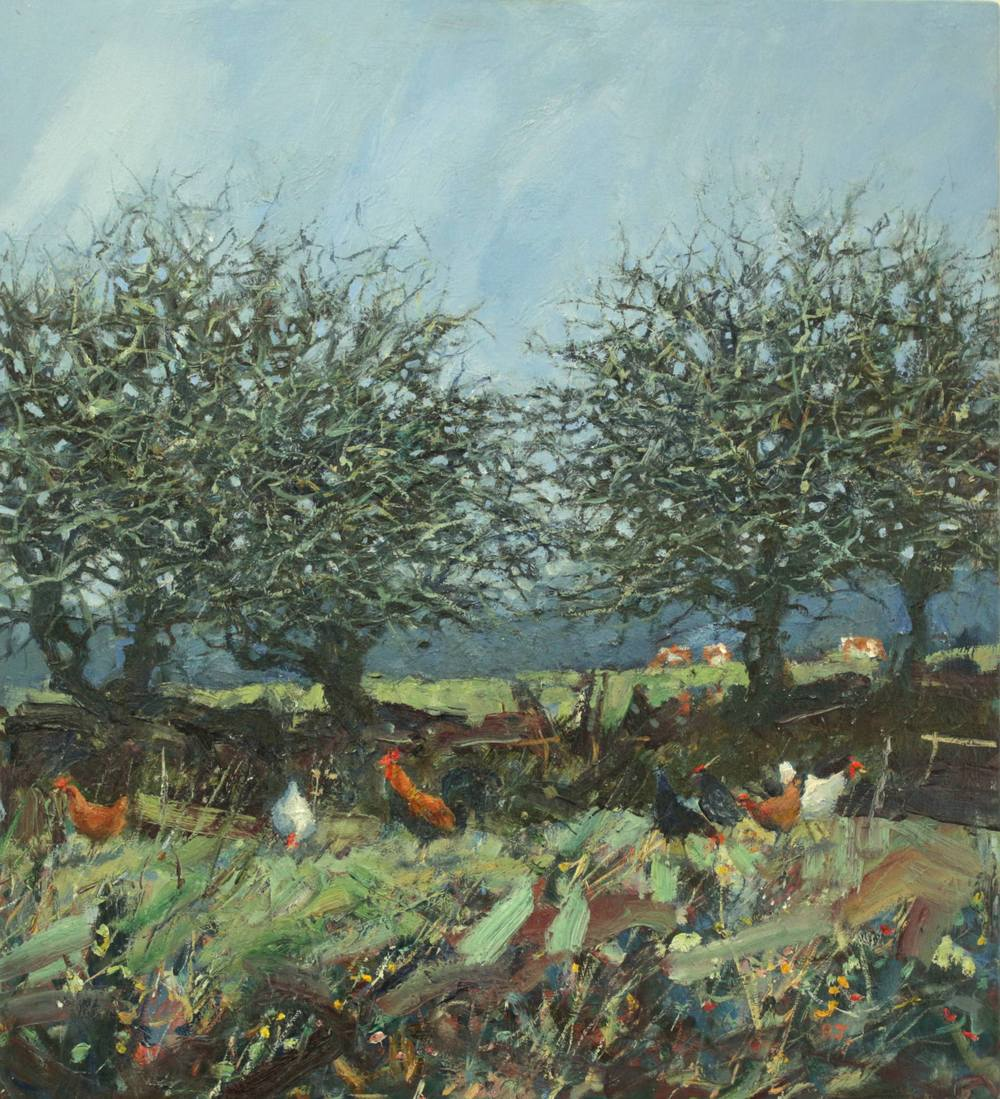 20. blackthorn and chickens