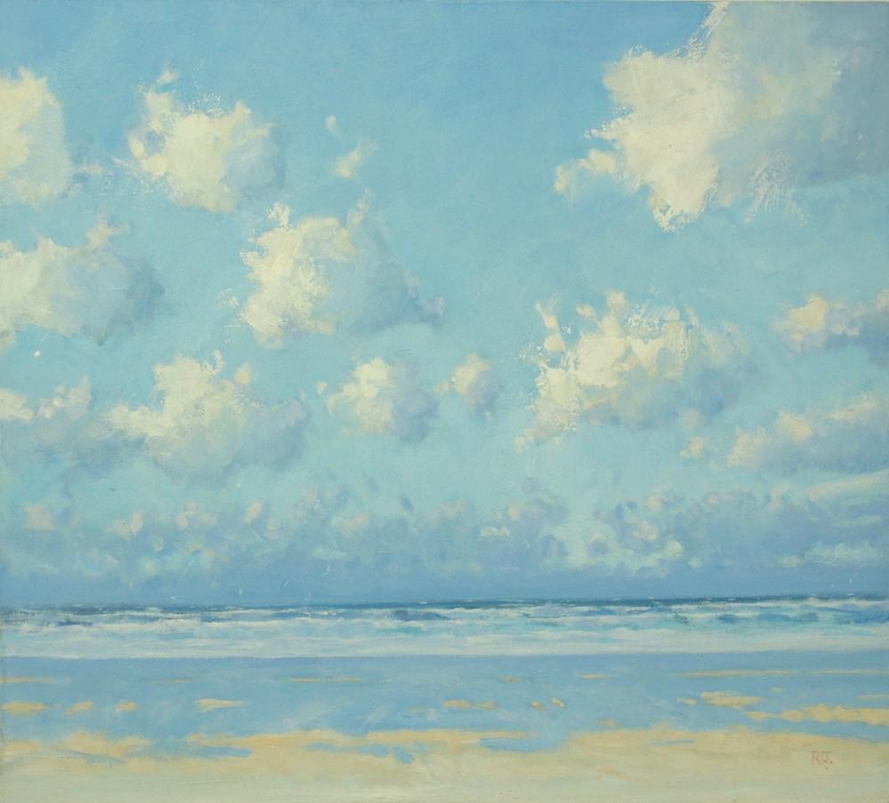 9. clouds, sea and sand III