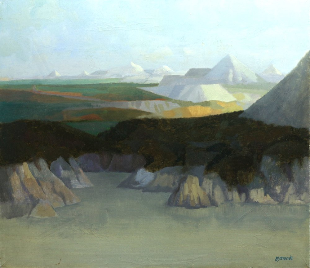 China Clay Landscape