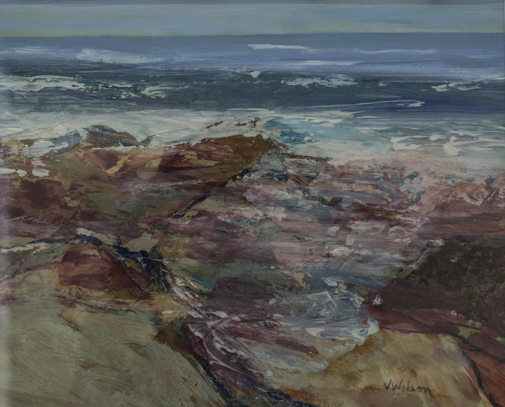 Tide Covering Rocks,Talland