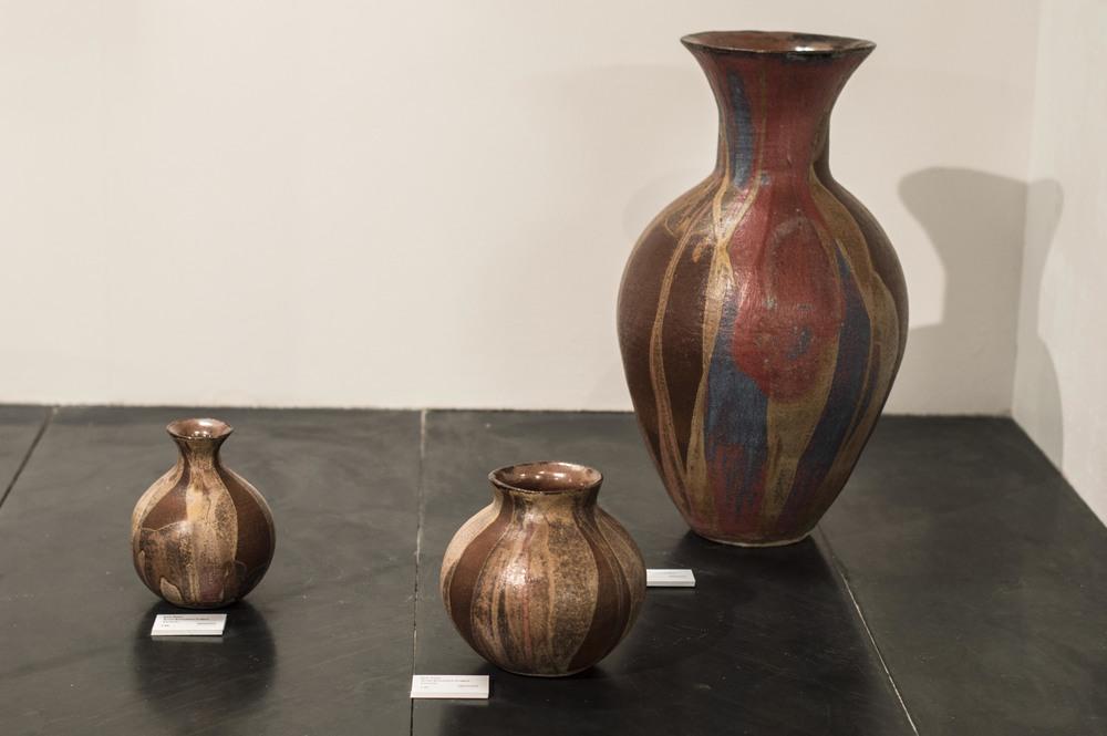 Small, Medium, Large Stoneware Coilpots