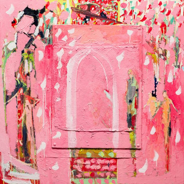 Rajistan pink  127-127cm   oil  3700.jpg
