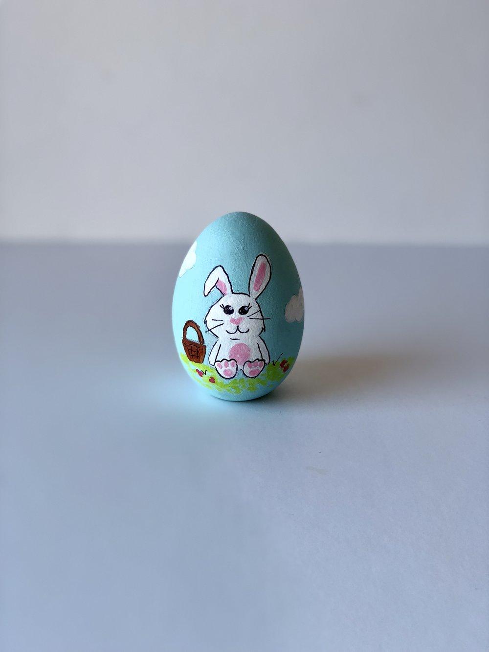 Mandy Cowley - A Festive Happy Bunny.jpg