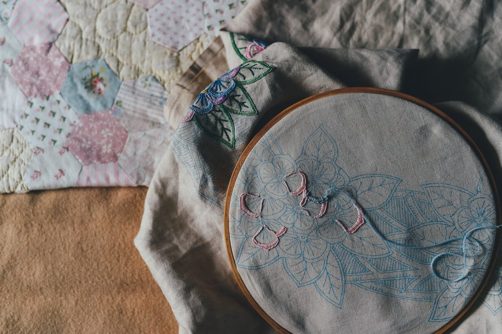 Embroidery 101 The Chattery