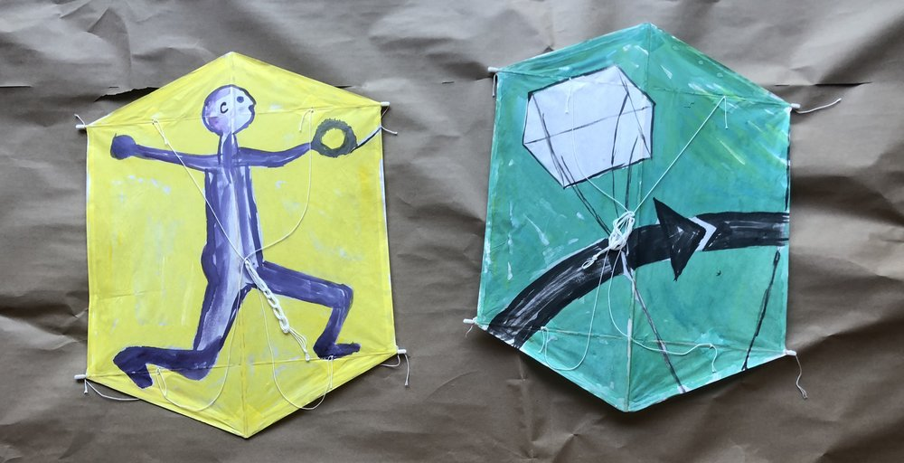 Examples of some of the kites that have been made in the past!