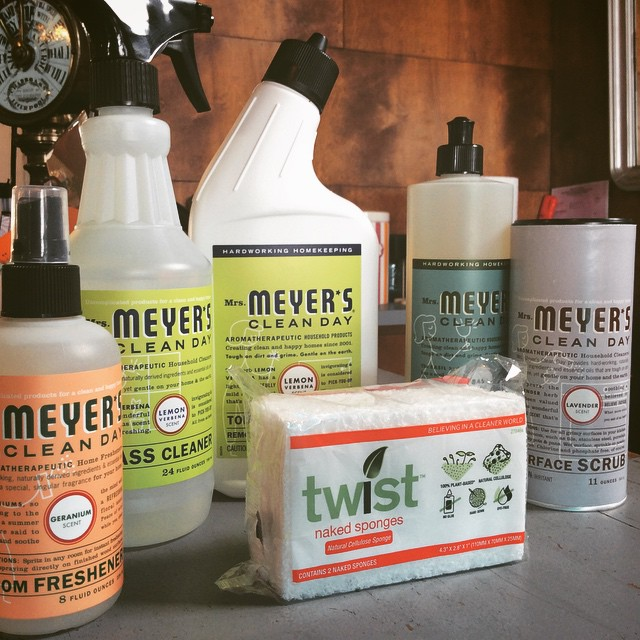 **What's New at Pearl Street** Mrs. Meyer's Clean Day is 'A collection of household products made with essential oils from flowers and herbs that smell nice, but really pack a punch against daily dirt and grime.' All products are earth friendly. #pearlstdistrict #pearlstgeneral #generalstore #lagunabeach #localstore #earthfriendly