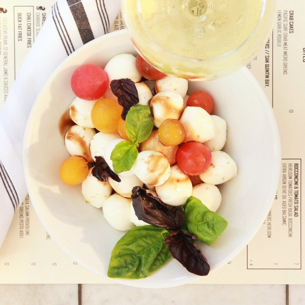 Bocconcini & tomato salad