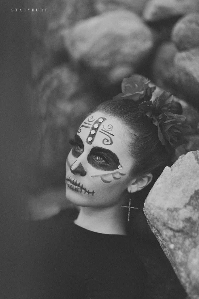 dio de los muertos, day of the dead, mexican holiday, celebration, november, black and white