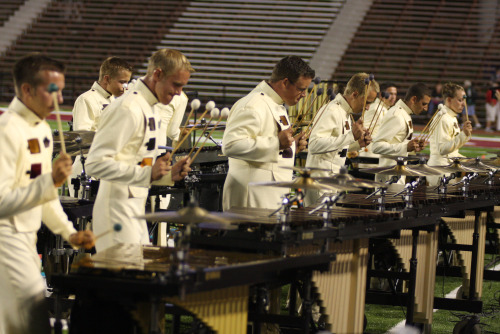 Carolina Crown 2008 Front Ensemble