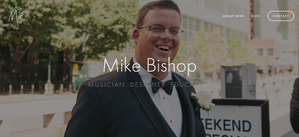 The new mikebishopmusic.com
