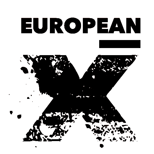 European X Logo Black Transparent.png
