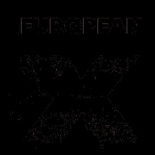 European X Logo Black Transparent.png
