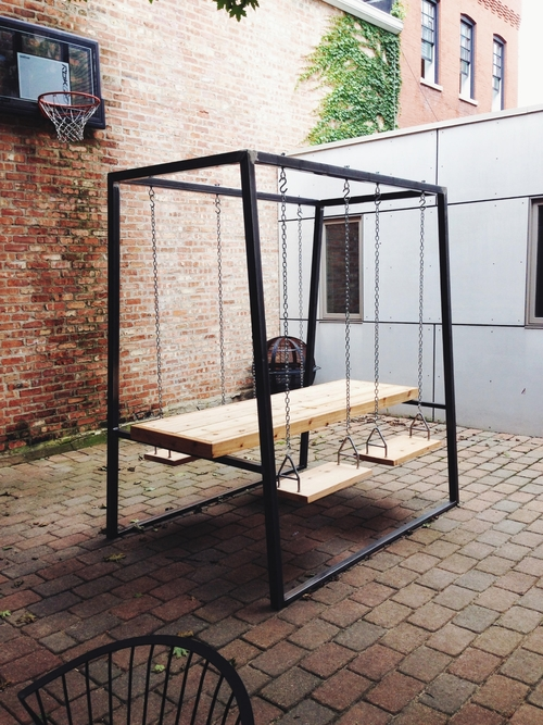 Swing-set Table