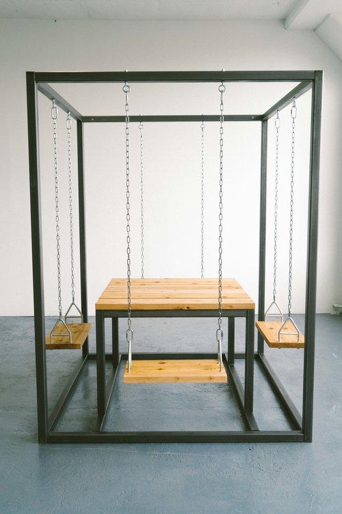 SquARE Swing-set Table
