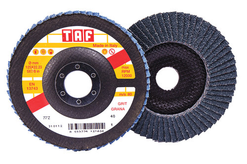 Zoom Flap Discs Type 27 Bullard Abrasives Custom Grinding
