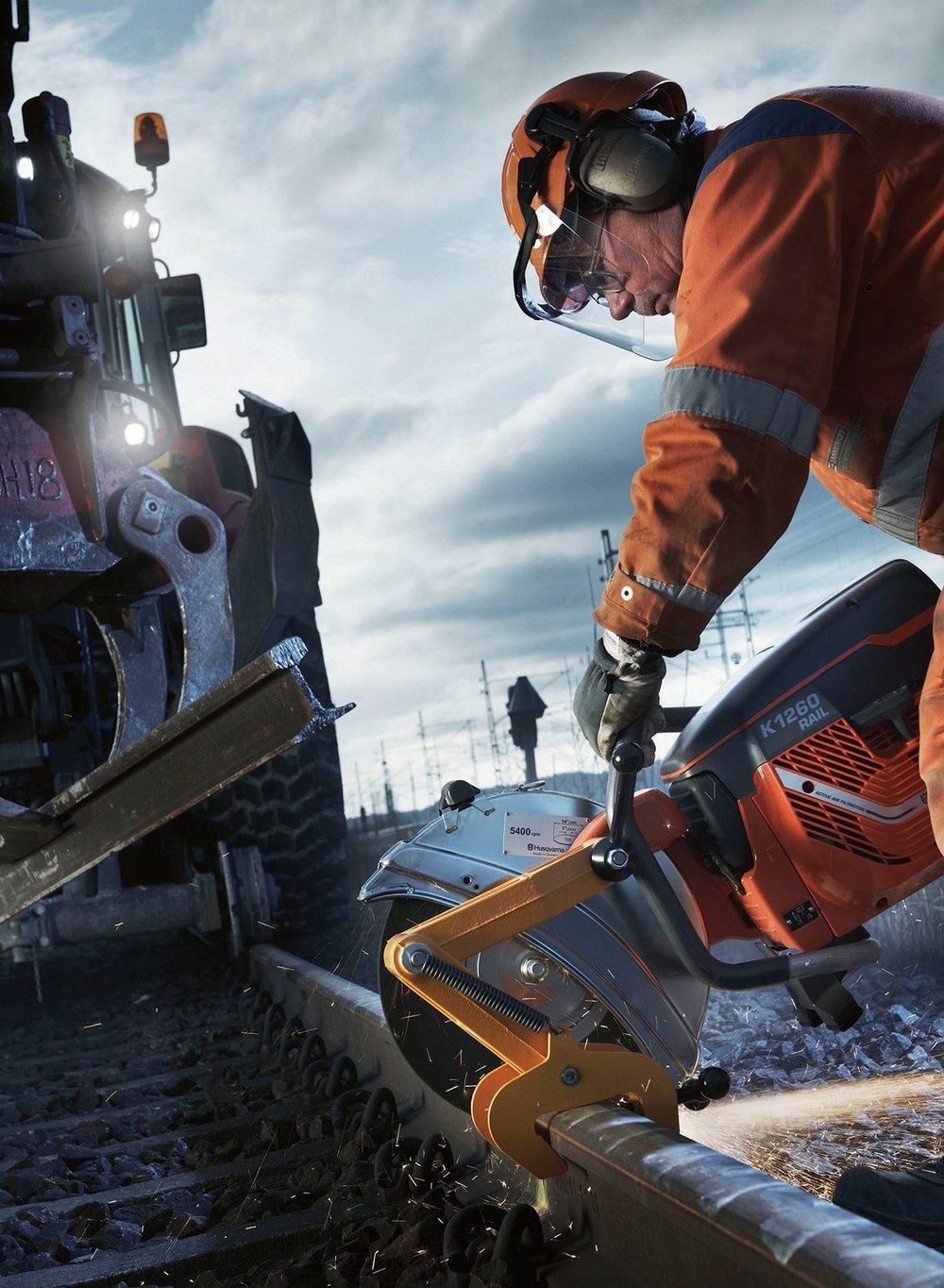 Gas and Hydraulic Rail Saw Cut-Off Wheels Type 1