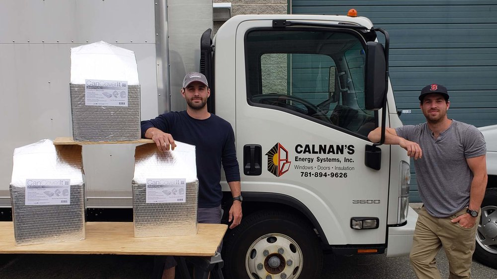 Calnan's two Sons install out in the field.