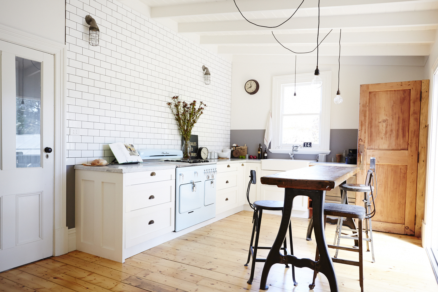 Vintage House Daylesford kitchen