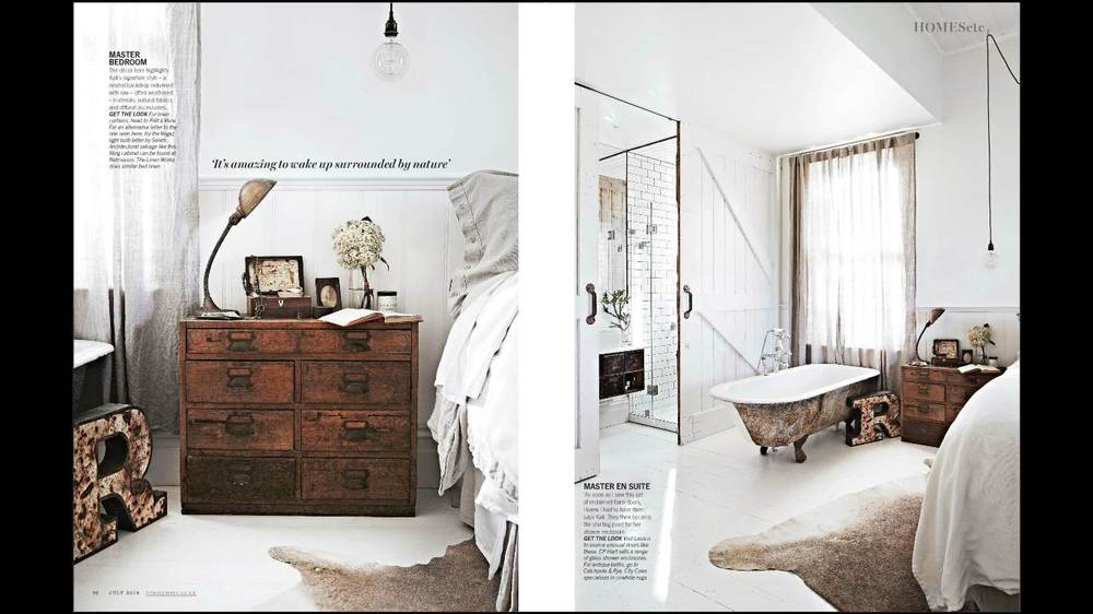 Vintage House Daylesford Living etc July 2014
