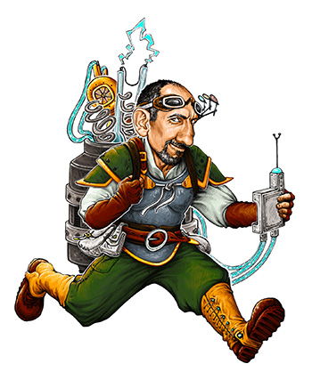 The Engineer - Uses tools and traps to gain a strategic advantage. (Available with PennyGem add-ons)