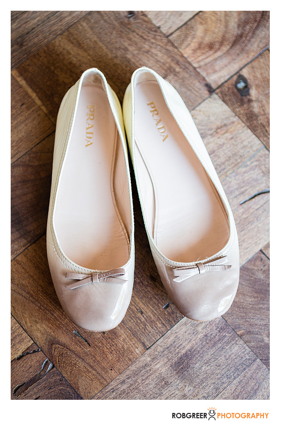 Carries Prada Wedding Shoes