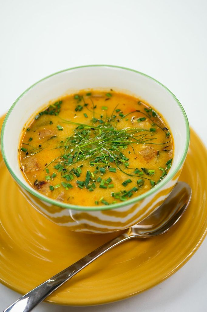 Clam chowder you can eat guilt free