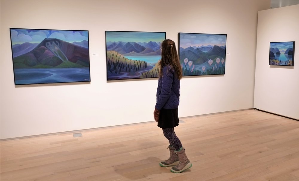 Alaska State Museum Solo Exhibition-  Ebb and Flow ,  March 2018