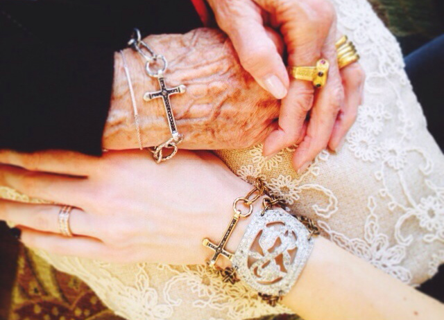 My grandmother and I love our twin cross bracelets!