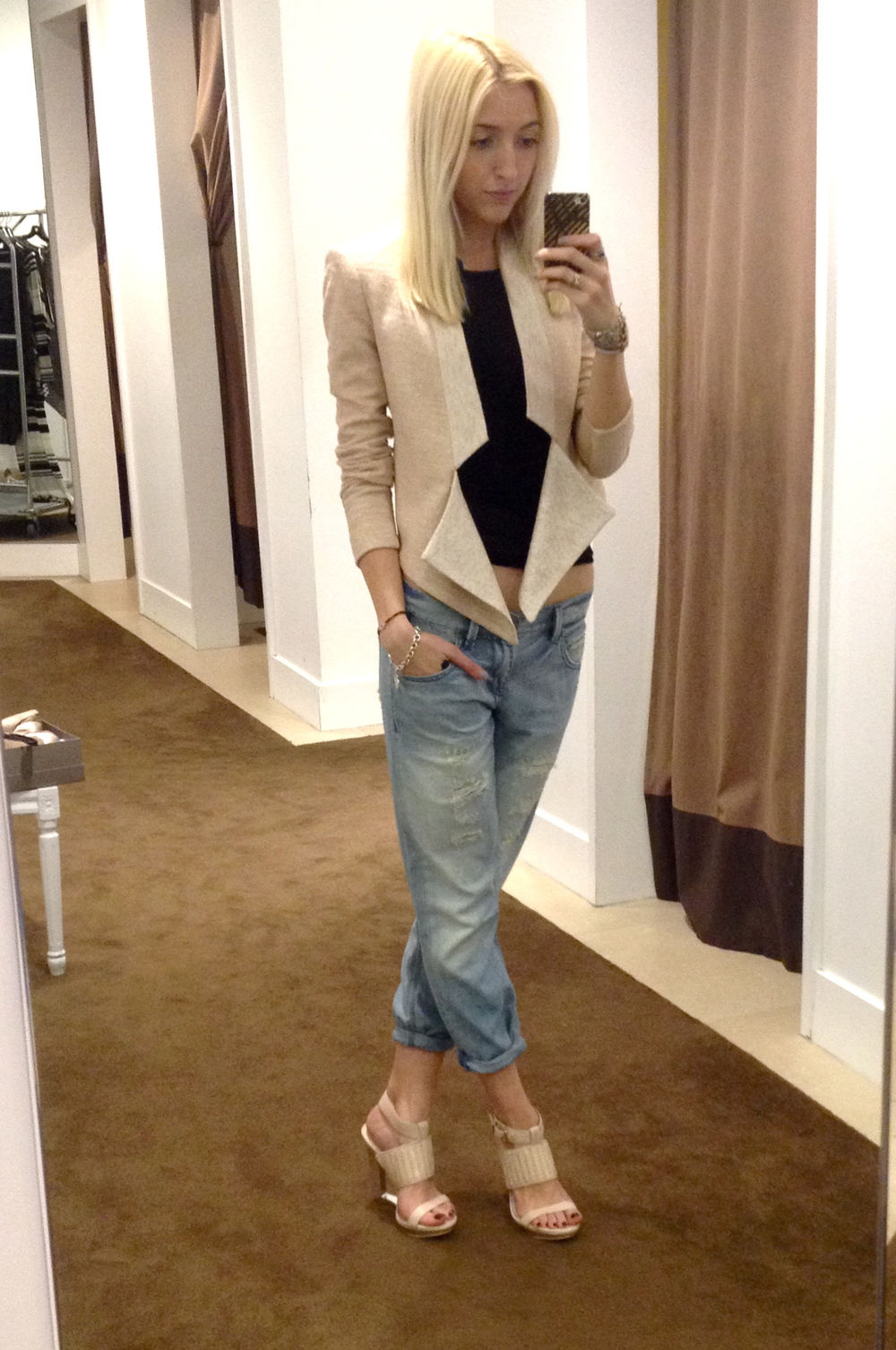 Outfit of the Day: Head-to-toe  BCBG Max Azria  Resort collection