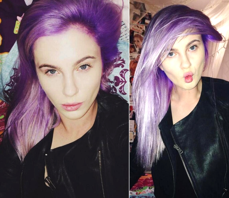 "Supermodel Ireland Baldwin-Bassinger dyed her platinum locks, saying ""It's fun""."