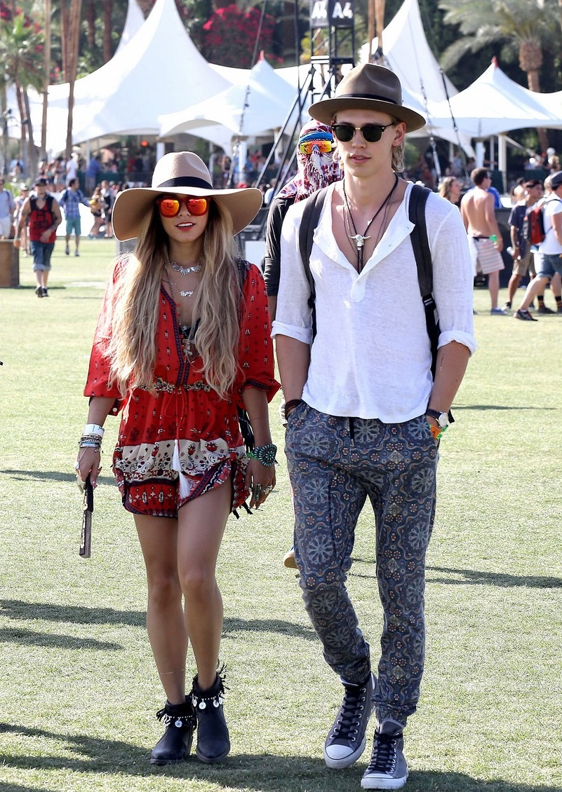 The devoted Coachella couple Vanessa Hudgens and Austin Butler are sure to hit up the festival every year.