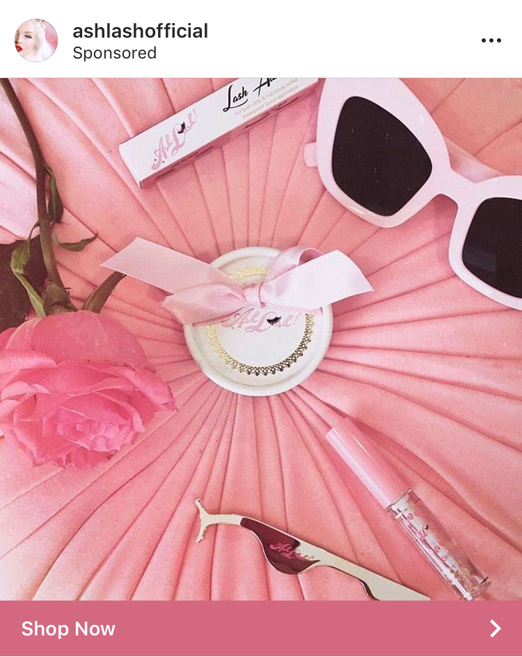 I took this lifestyle photo for Ash Lash, a luxury lash brand, which has been used in several of their social media advertisements. The photo features a box of Ash Lash lashes, lash glue, lash application tool, and Bad Kitty sunglasses all from the brand.