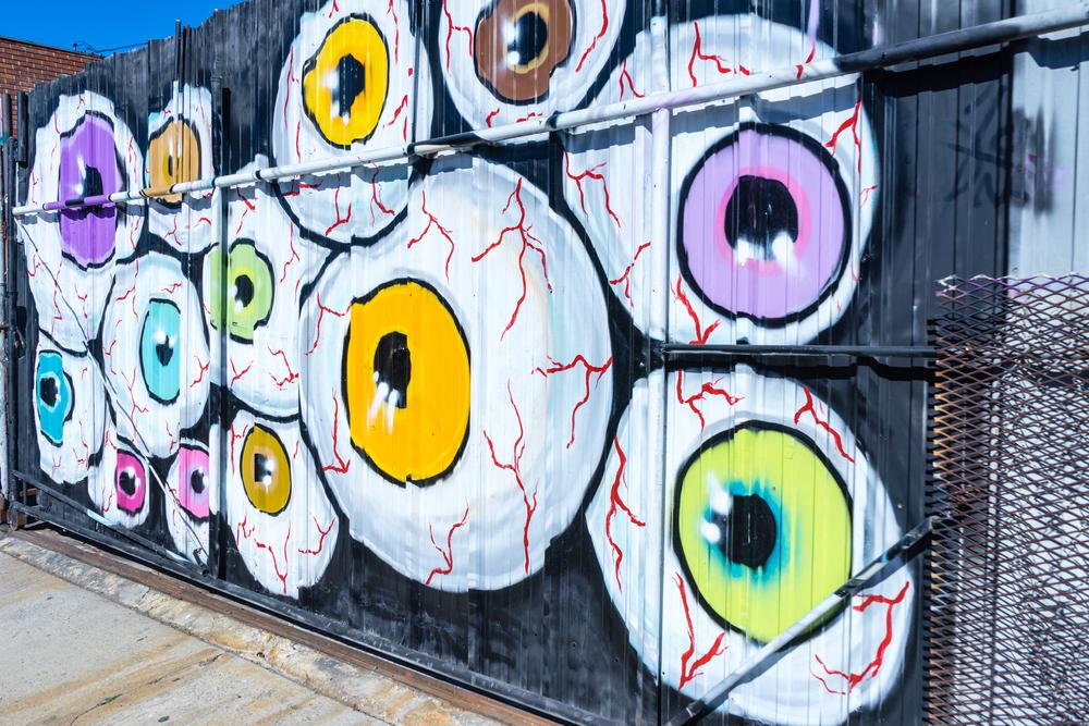 Eyeballs Mural