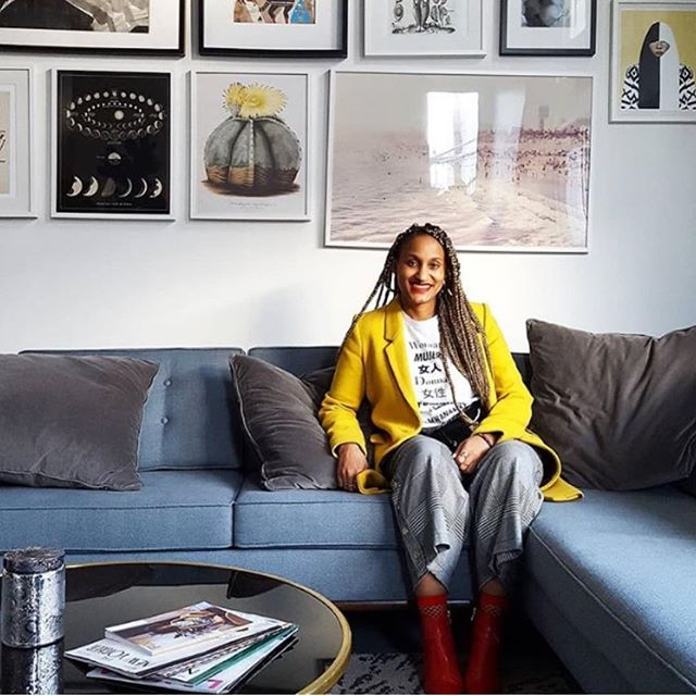 "We're excited to feature @changecadet as our Woman of the Month for April! (late post, we've been busy over here!) • Dr. Akilah Cadet is the Founder of Change Cadet, a consulting company offering coaching, strategic planning, innovation and diversity training for individuals or companies. It came about after stress from her previous job caused severe depression. • A few of her top tips include:  1 - Say no to the no's and yes to the yes's. If something doesn't align with your values, say no, no matter what. If something interests you, say yes! 2 - Have a mantra ready when you're going into a big situation. (Hers is ""Slay"" 👑) 3 - Self love and affirmations are key • Head over to solsisters.org to read the full blog! #WOM #EmpoweringWomen #StrugglesTurnedToStrength • 📝 by: our sis @chaylasings"