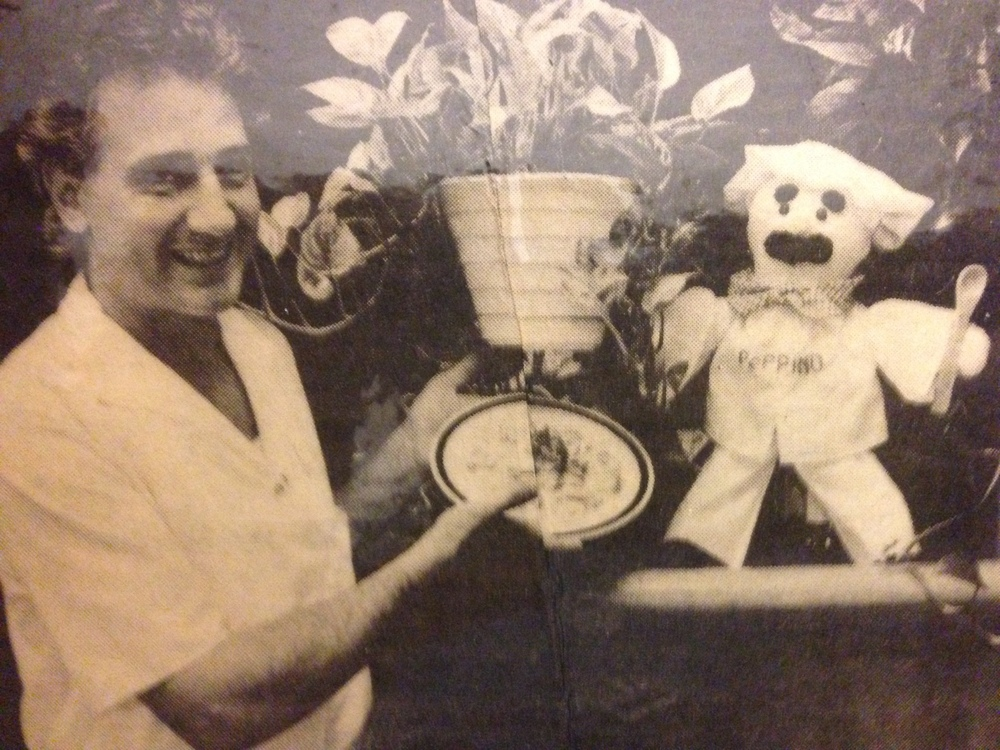 Chef Peppe Mazzella upon grand opening 87'. Photo by EILEEN SAMELSON/ORLANDO SENTINEL1987