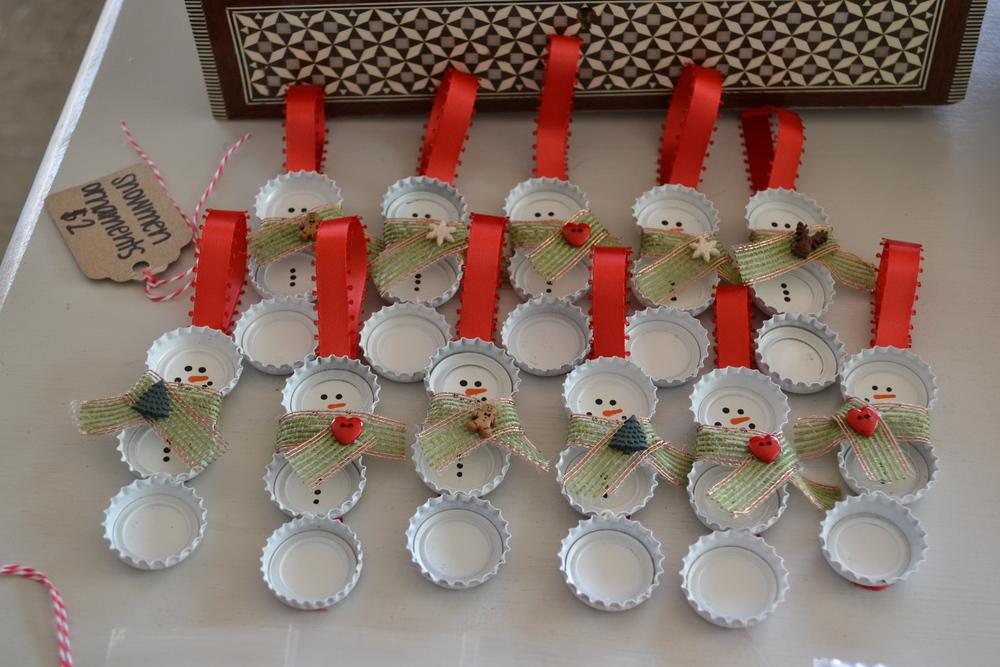 Snowman Ornaments (Natasha Byrd Events)
