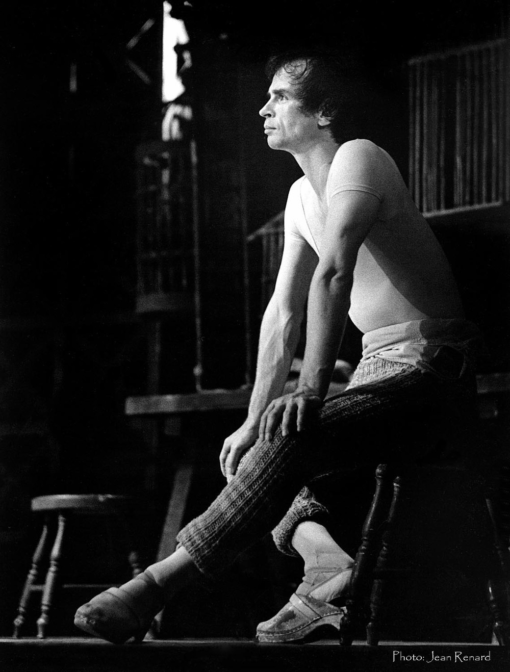Rudolph Nureyev one of the most charismatic people I have ever worked with.
