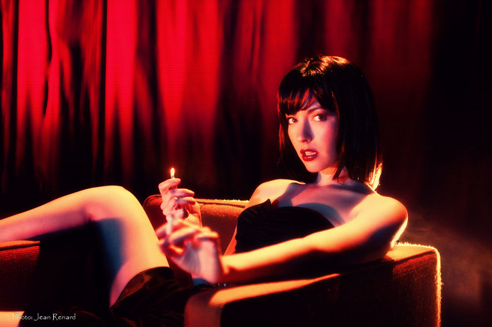 "A Chrysta Bell image for the David Lynch produced album ""This Train"""