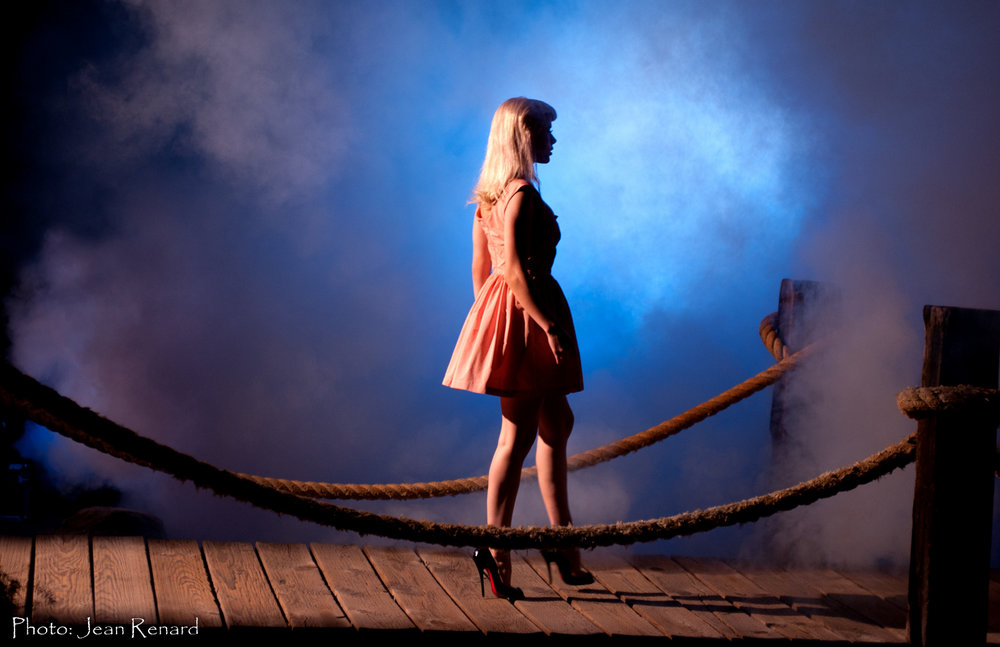 Frame of music video shoot.  Did I mention I love smoke?