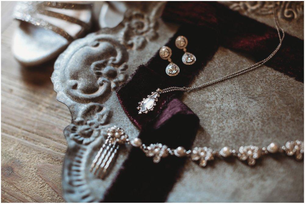 The little bridal details.