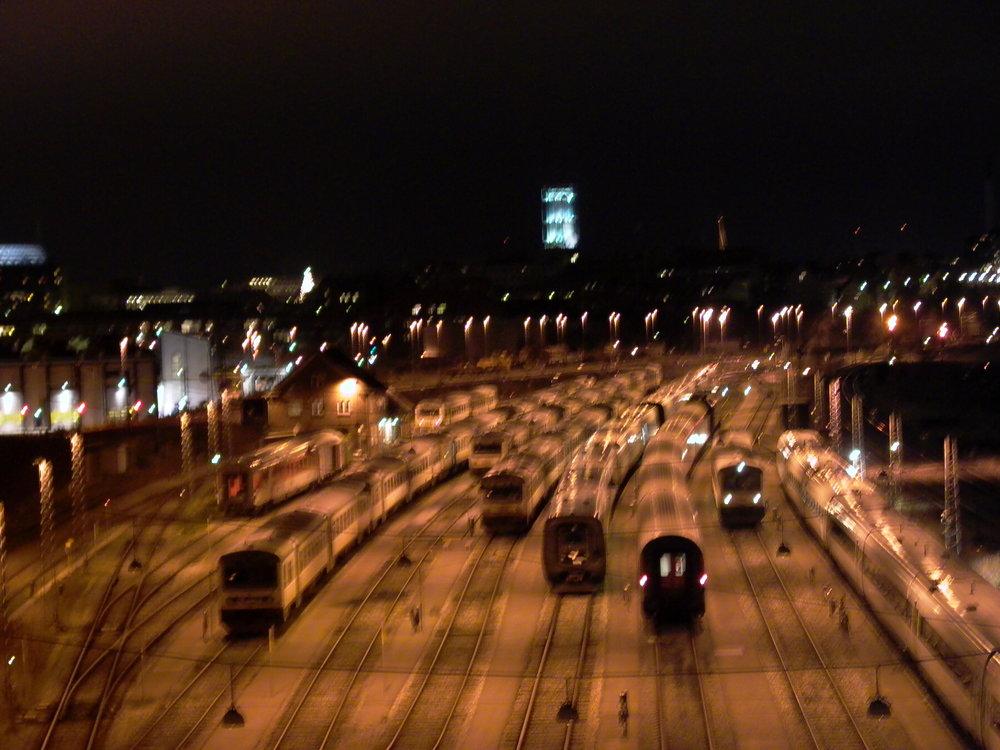 """""""Depart""""  / Aarhus, Denmark / 3.12.2003"""