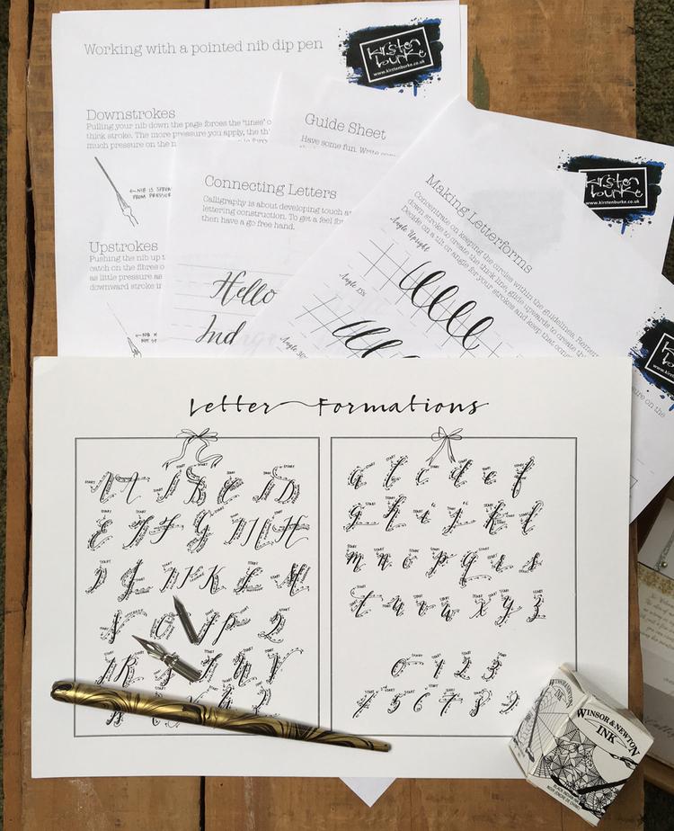 Calligraphy Starter Kit — Kirsten Burke