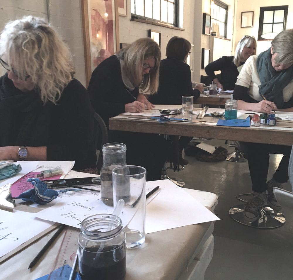 Beginner Calligraphy Classes